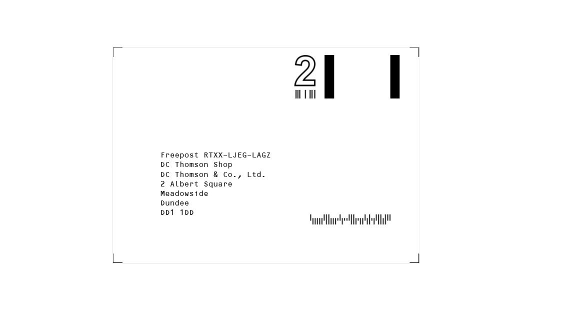 freepost returns Label